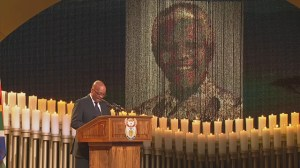 Zuma delivers eulogy in memory of Nelson Mandela